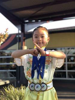 Emily Zhan NZ Wushu
