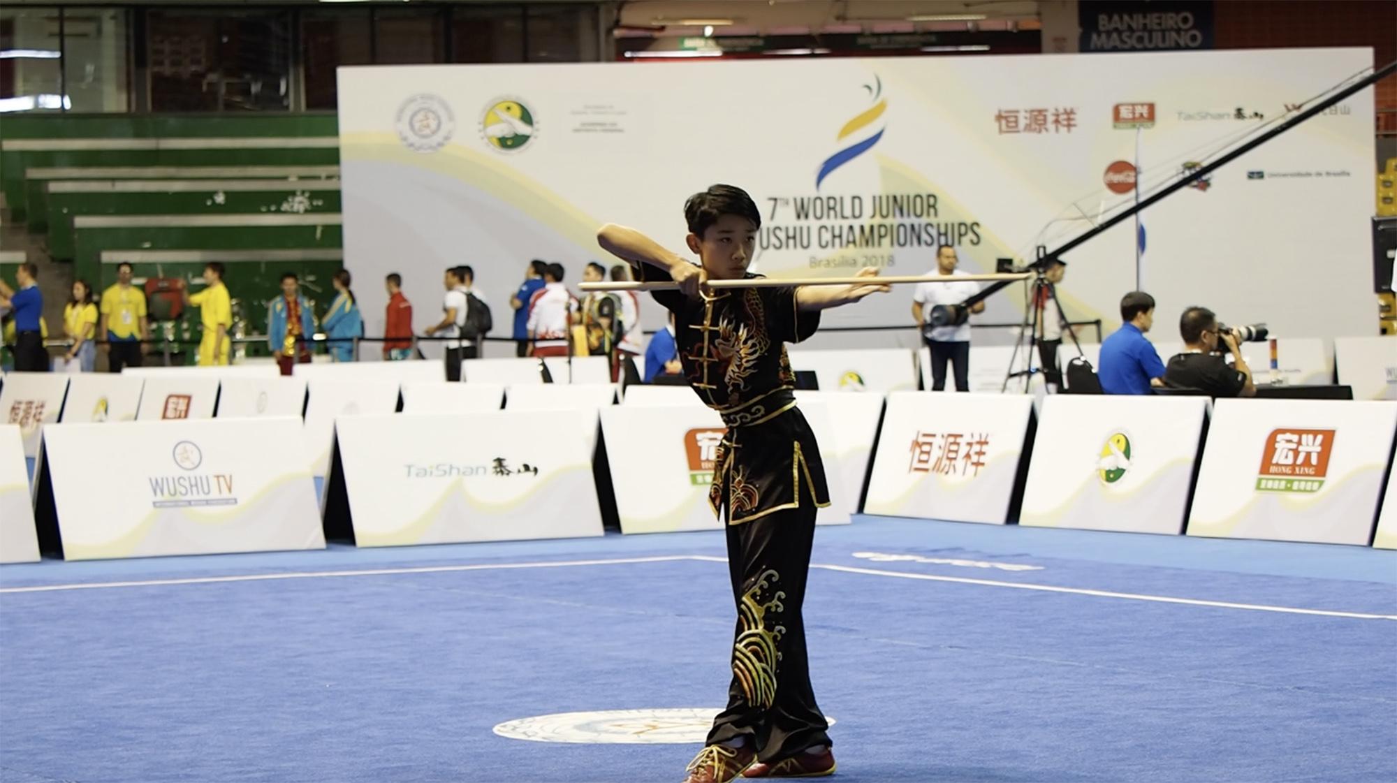 Arnold Sun Gunshu 7th World Junior Wushu