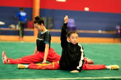 Warming up / stretching - NZ Wushu