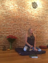 Cherie teaching at The Yoga Room in Idaho Springs