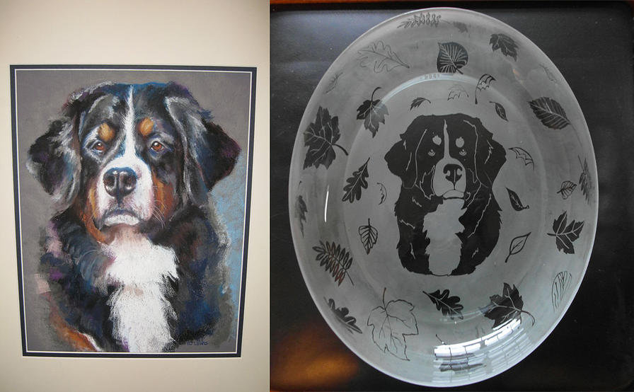 dog lover gifts, custom gifts, bernese mountain dog puppies, dog gifts,