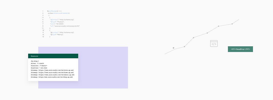 Indbyggede SEO-funktioner til Wix-hjemmesider