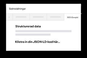 Anpassad strukturerad data på din Wix-hemsida med JSON-LD-kod
