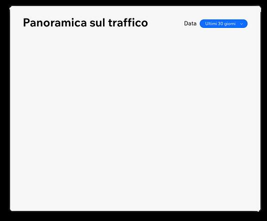 Un esempio di un resoconto di traffico n