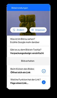 Eine Website für Verpackung mit integrierten Funktionen, mit denen Rollen und Berechtigungen für Teammitglieder festgelegt und Alternativtext für Bilder erstellt werden kann, um Inhalte für alle zugänglich zu machen.