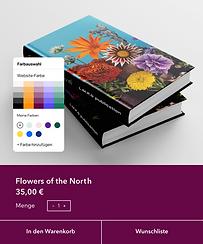 Eine Website für Buchveröffentlichung, die auf Wix erstellt wurde.