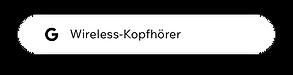 """Google-Suchanfrage für """"Wireless-Kopfhörer"""""""