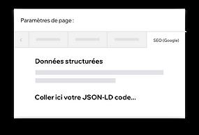 Personnalisation de données structurées sur votre site Wix avec le code JSON-LD