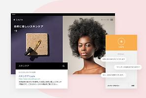 メールマーケティングツールを使ってマーケティングキャンペーンを作成しているスナップショット。