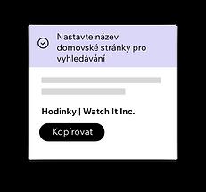 Wix SEO Wiz, nástroje nastavení SEO pro vaši domovskou stránku