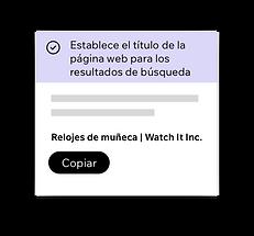 Wix SEO Wiz, configuración de títulos SEO para tu página web.