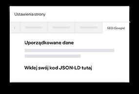 Dostosowywanie danych strukturalnych w witrynie Wix za pomocą kodu JSON-LD