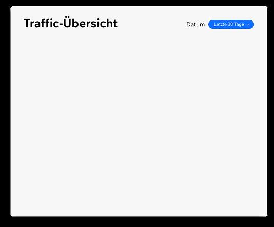 """"""" Ein Beispiel für einen Traffic-Bericht"""