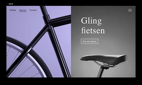 Nieuwe fietsen website