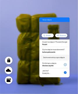Strona sklepu z opakowaniami prezentująca wbudowane funkcje, które umożliwiają tworzenie ról i uprawnień dla członków zespołu oraz dodanie tekstu alternatywnego dla zdjęć, aby Twoje treści były dostępne dla wszystkich.