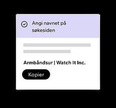 Wix SEO Wiz, angi SEO-titler for hjemmesiden din