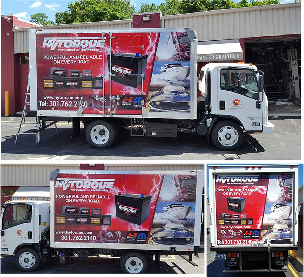 Truck Wraps in Maryland