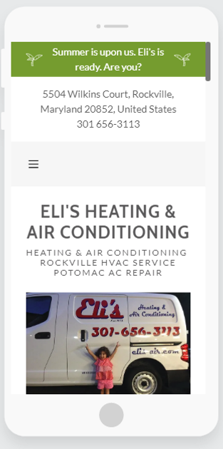 Elis Air Website Created