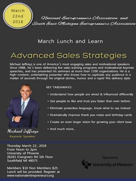 Advance Sales Strategy