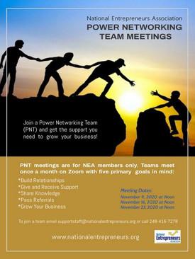 Power Networking Team Meetings