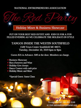 The Red Party Holiday Mixer