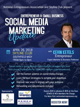 Social Media Marketing Update