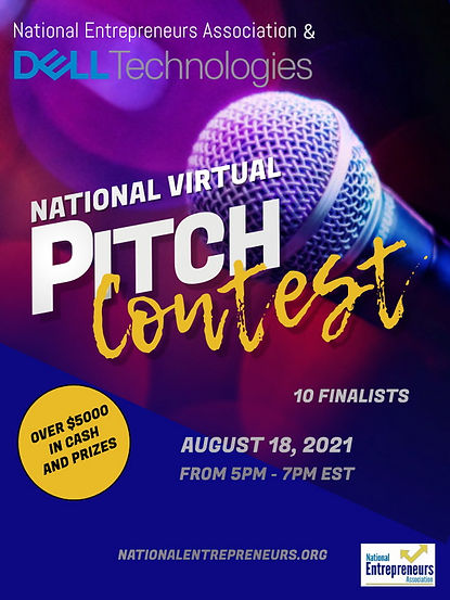 2021 National Virtual Pitch Contest Pt I