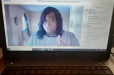 Kickoff Speaker Camille Walker Banks
