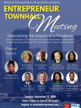 Entrepreneur Town Hall: Overcoming the Impact of a Pandemic