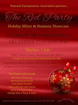 The Red Party Holiday Mixer & Business Showcase