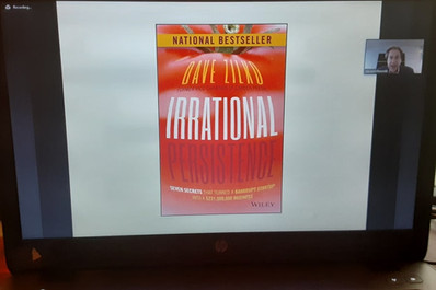 Best Selling Book Irrational Persistence by Dave Zilko