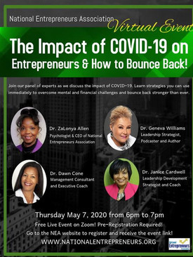 The Impact of COVID-19 on Entrepreneurs