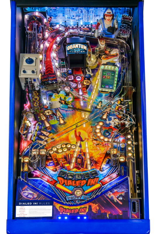 Dialed In LE Pinball -playfield close