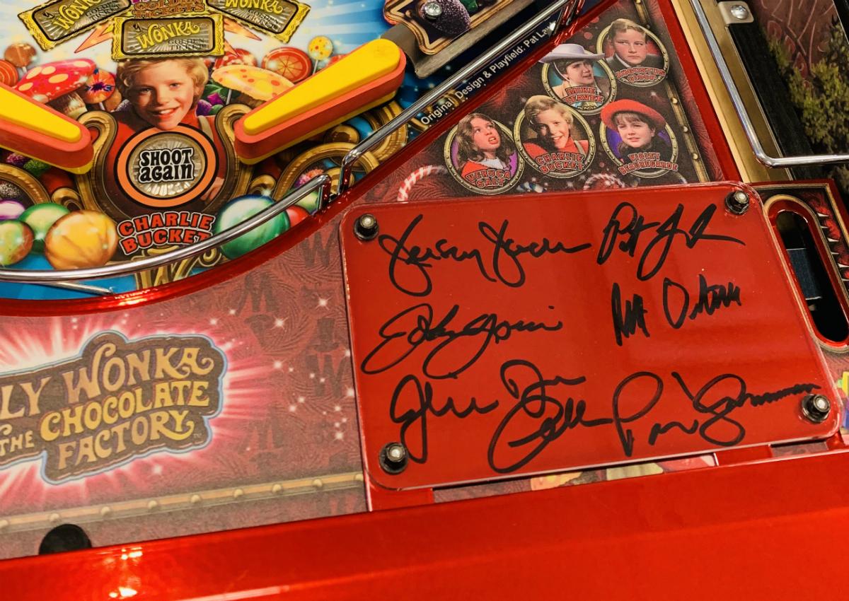 Willy Wonka Pinball Machine Collector Ed