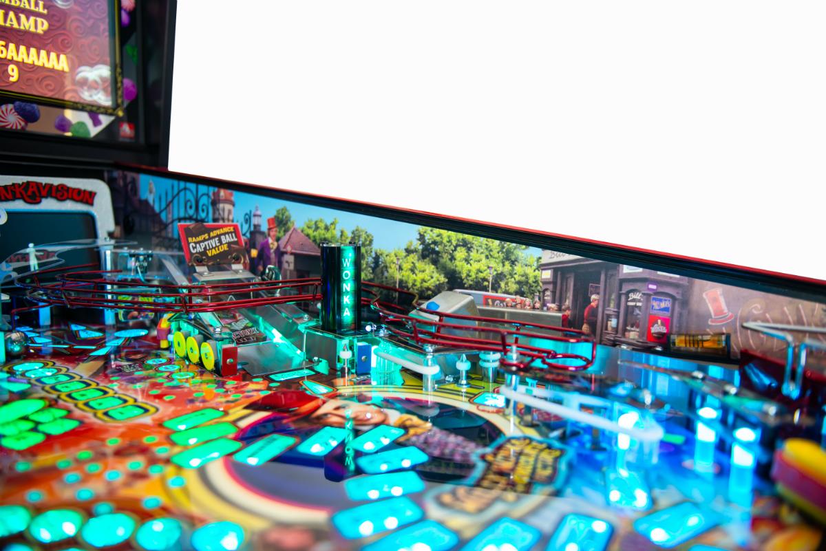 Willy Wonka Pinball Machine Playfield Ri