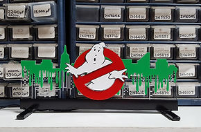 Stern Ghostbusters Sign Off