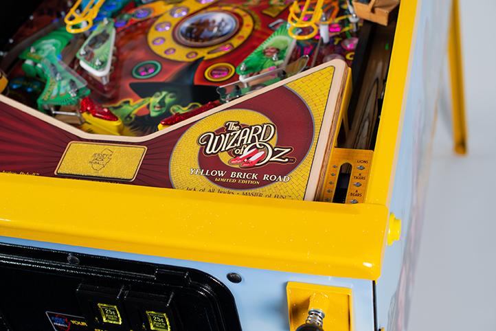 WoZ Yellow Brick Road Pinball Machine 01
