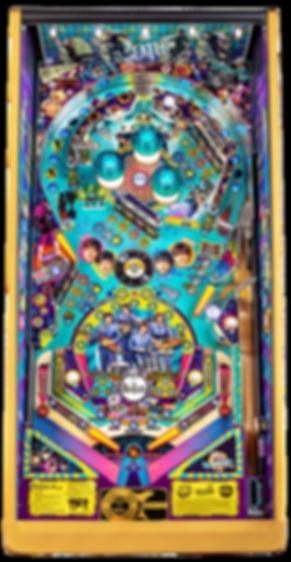 Beatles-Pinball-Machine-Gold-Playfield.p