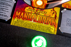 Pinball Pirate Mandalorian Premium 007