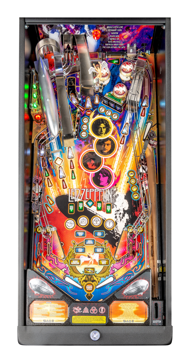 Stern Led Zeppelin Pro Playfield Pinball