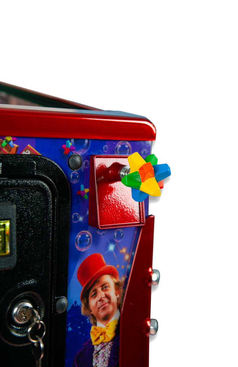 Willy Wonka Pinball Machine Shooter