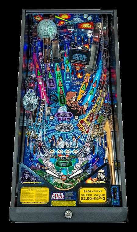 Stern Pinball Machine Star Wars LE Playf