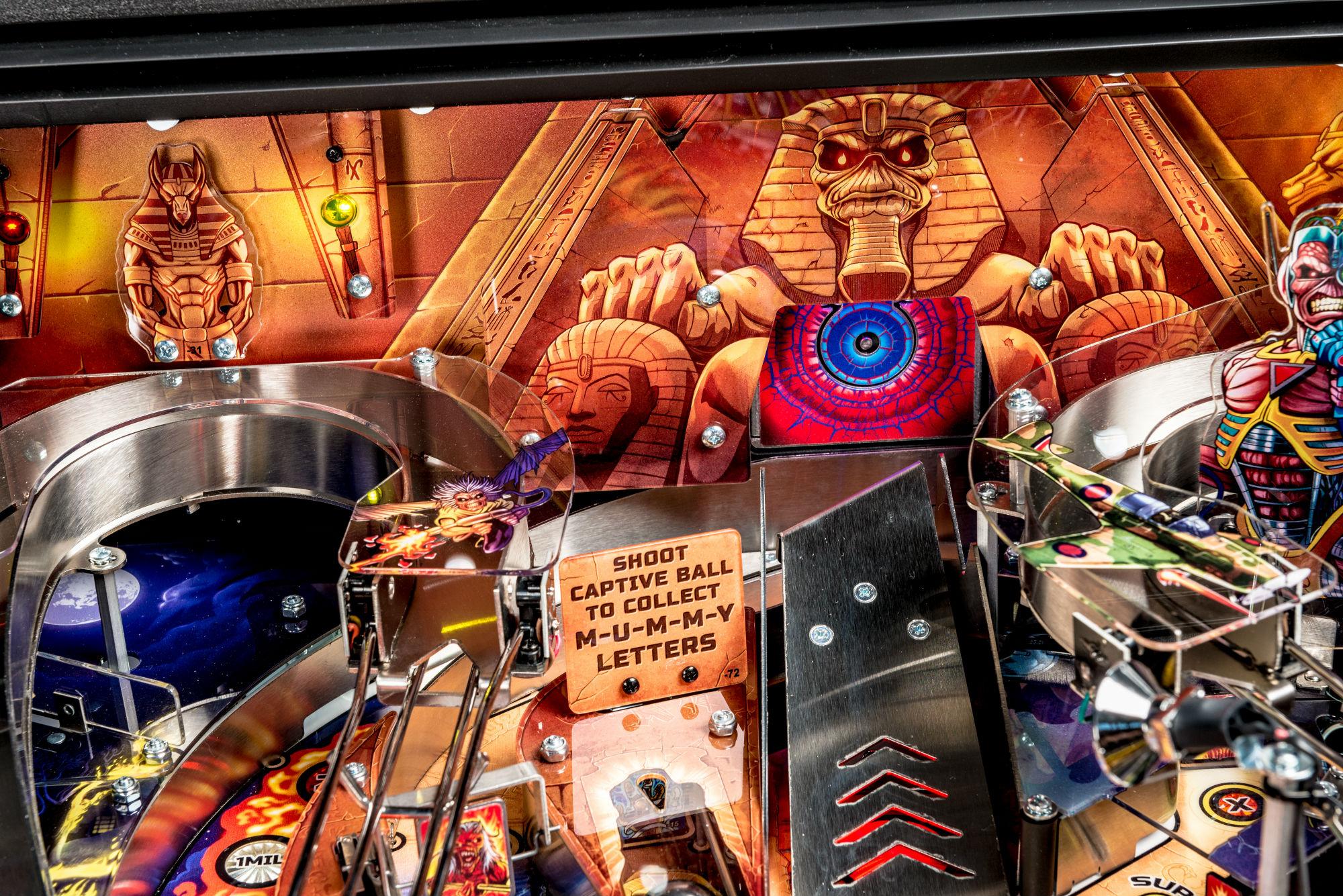 Iron Maiden Pinball Machine 06