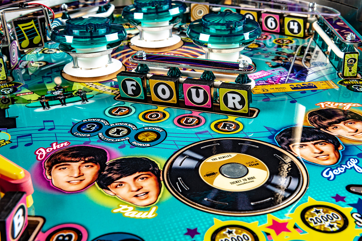 Beatles-Pinball-Machine-Gold-Detail-04