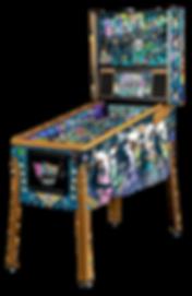 Beatles-Pinball-Machine-Gold-Cabinet-LF.