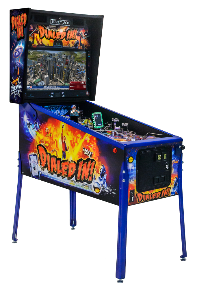 Dialed In LE Pinball-left