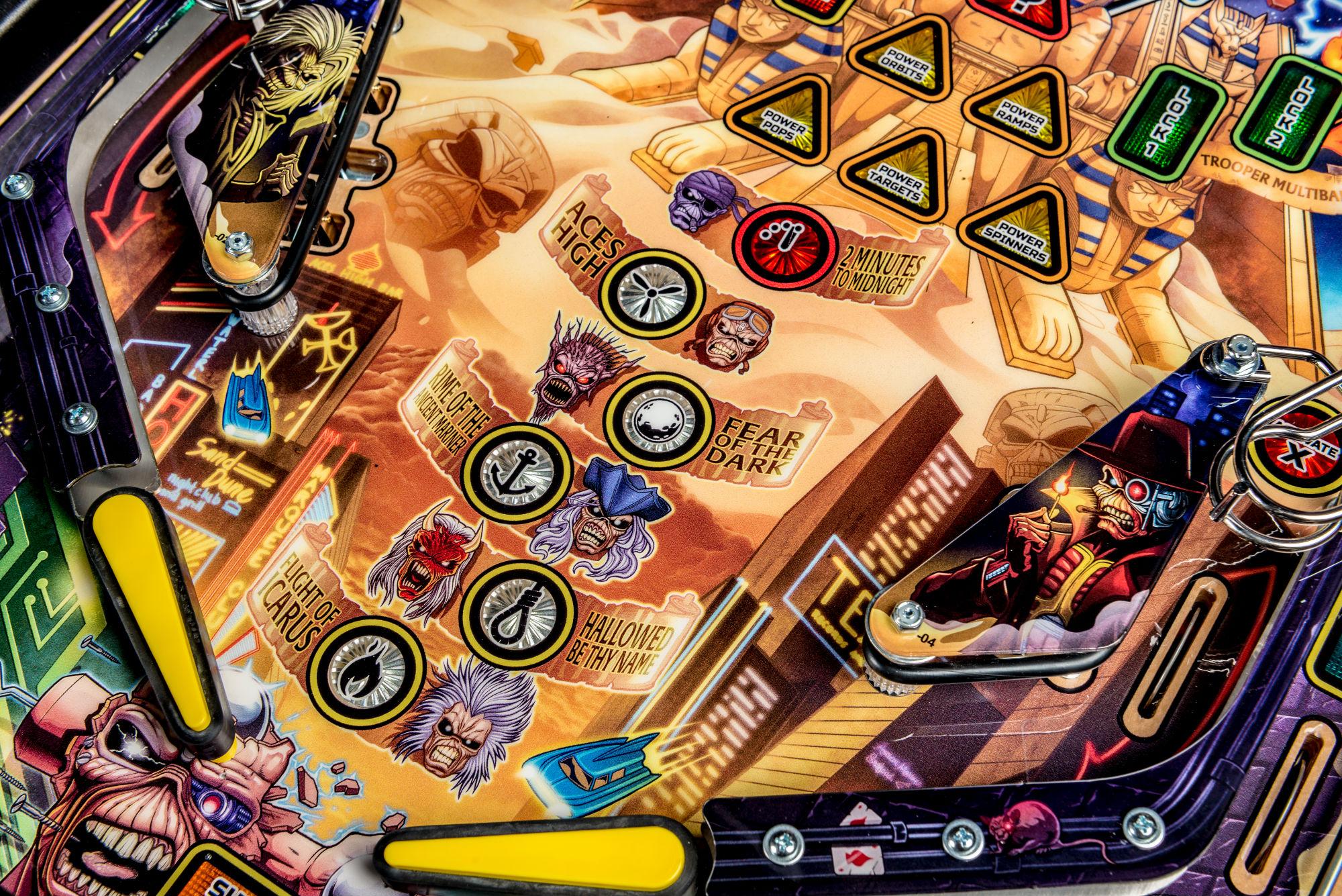 Iron Maiden Pinball Machine 07