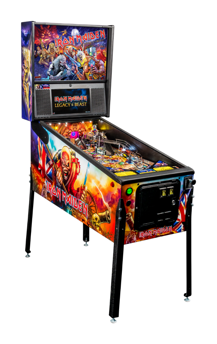 Iron Maiden Pinball Machine 01