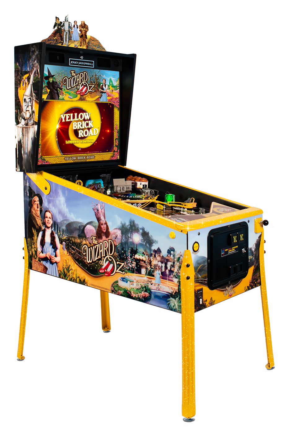 WoZ Yellow Brick Road Pinball Machine 05