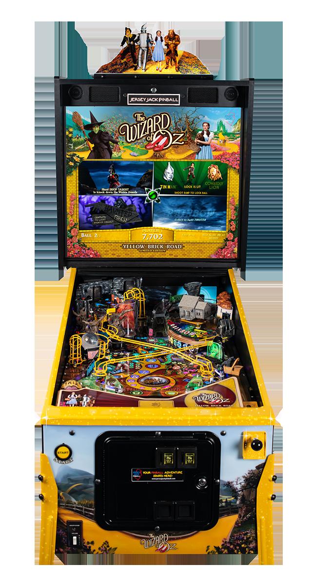 WoZ Yellow Brick Road Pinball Machine 09